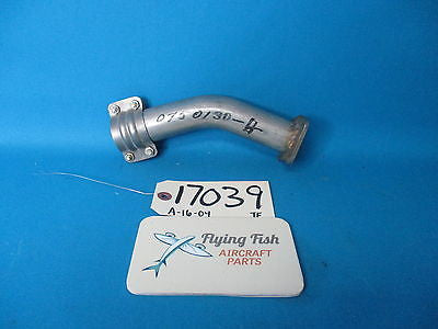 Cessna Aircraft Exhaust Stack Pipe Assembly P/N 0750130-4 NEW (17039)