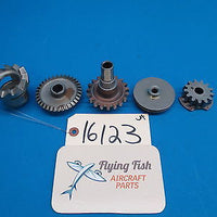 Aircraft Engine Gears Lycoming Continental Cessna Piper Beechcraft Lot (16123)