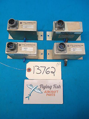 Lot of 4  S-Tec AutoPilot Electronic Components PN: 0176 (13762)