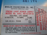 Whelen Strobe Light Power Supply A413, HD-42-DF-14 GUARANTEED 14V (16755)