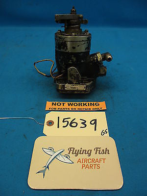 Woodward Aircraft Propeller Prop Control Governor Core PN: 210597 (15639)