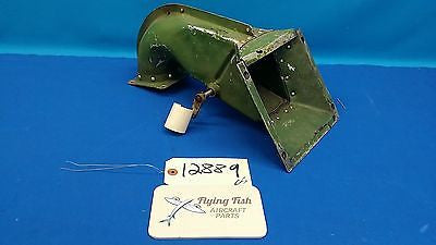Vintage Cessna L-19 Bird Dog War Bird Air Box Intake Assembly (12889)