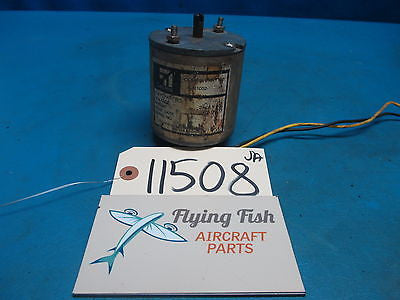 Cessna Flap Motor P/N: C301002 28VDC GUARANTEED (11508)