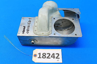 Cessna Aircraft Carburetor Air Box Adapter Assembly P/N 0850568-1 (18242)