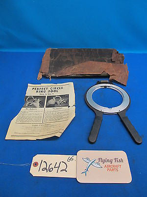 Vintage Perfect Circle Ring Tool Engine Cylinder Piston NEW OLD STOCK (12642)