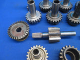 Aircraft Engine Gears Lycoming Continental Cessna Piper Beechcraft Lot (13047)