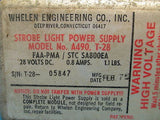 Whelen Strobe Light Power Supply A490, T-28 GUARANTEED 28V (10519)
