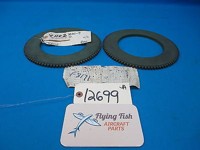 Beechcraft Disc Ring Assembly Lot of 2 PN: 96-300001-9 New with Pick Tag (12699)
