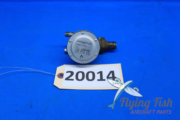 Airborne Vacuum Regulating Valve Model 133A4 Piper PA-28R-180 (20014)