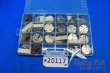 Lot of 8 Day Clock Parts Waltham A-13A (20117)