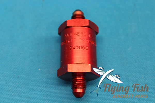 Commercial Aircraft Products Fuel Check Valve P/N 340000 (20606)