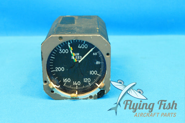 Kollsman Lighted Airspeed and Max Airspeed Indicator P/N: B38077-10-023 (20612)
