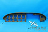Piper PA-28R-180 Black Upper Instrument Panel Cover P/N: 67227-07 (20661)
