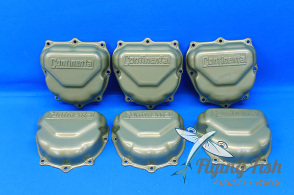 Lot of 6 Continental Rocker Box Cover Plates P/N: 625615-L (20730)