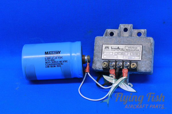 InterAv Voltage Regulator P/N: 625-61623 (20754)