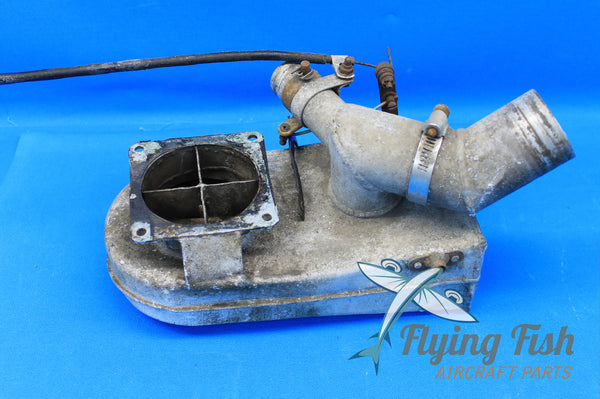 Mooney M20D Carburetor Air Box Assembly P/N: 600063-5 (20773)