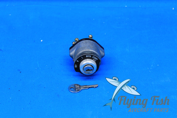 Teledyne Continental Ignition Switch w/ Key P/N: 10-357210-1 (20785)