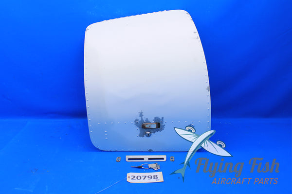 Mooney M20D Baggage Door w/ Key P/N: 350090-505 (20798)