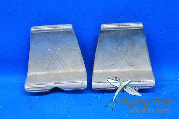 Pair of Mooney M20D Pilot Rudder Brake Pedals P/N: 720017-7 (20805)