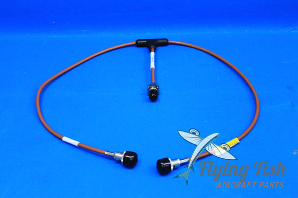 ITT Exelis VHF Balanced Loop Antenna Cable P/N: DM N4-33-8
