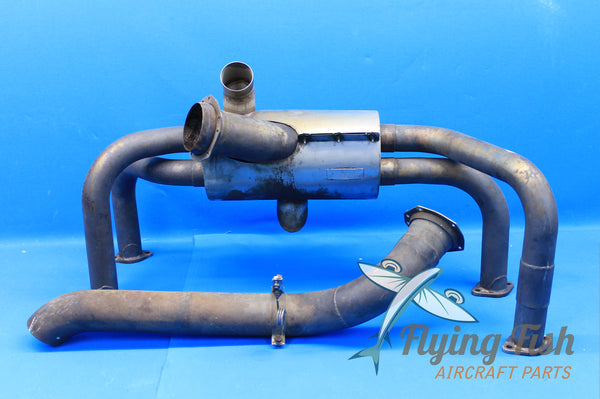 Mooney M20D Exhaust System Assembly P/N: 637-139 (20853)