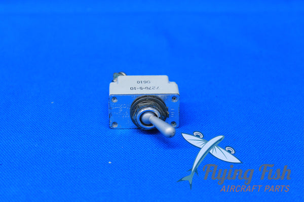 Mooney M20D Pitot Heat Switch P/N: D7270-5-10 (20862)