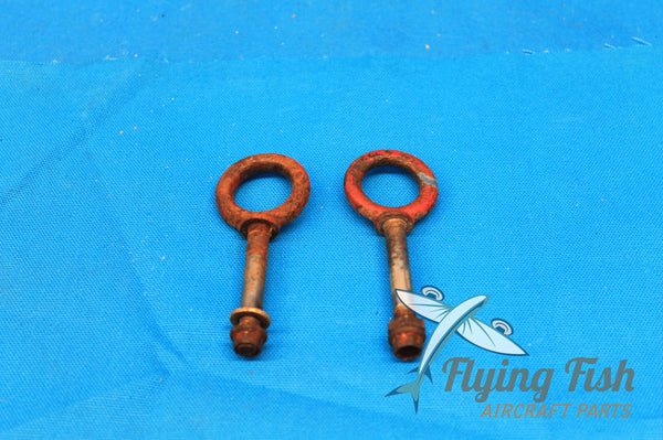 Pair of Cessna Cargo Tiedown Eyebolts P/N: 1211203 (20940)