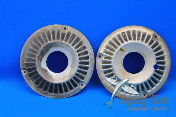 "Set of 2 Hubcap Wheel Covers Cessna 6 1/4"" P/N: 0743627-5, 0743627-6 (20998)"