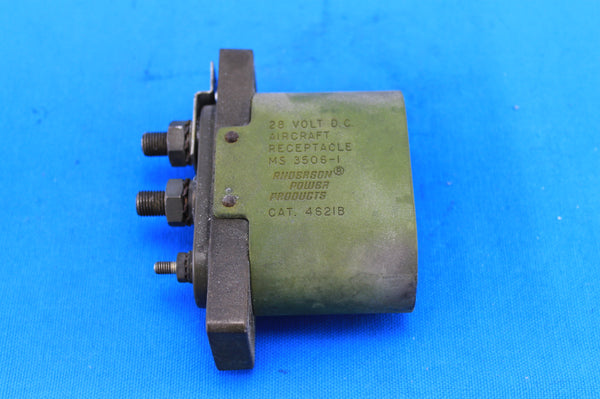 Cessna 172RG Ground Service Receptacle Plug P/N: MS3506-1 (21070)