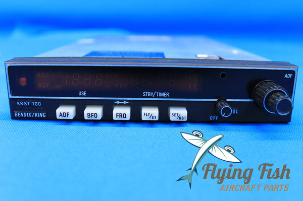 Bendix King KR-87 ADF Receiver P/N 06-1072-05 w/ 8130 (19926)