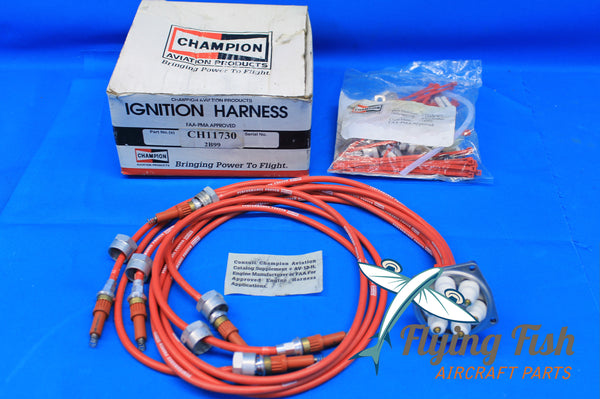 "Champion Ignition Harness P/N CH11730 3/4"" Leads NEW OLD STOCK (19938)"