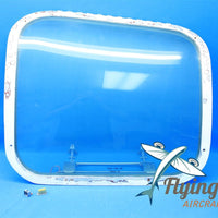 Beechcraft Baron 55 Rear LH Emergency Door Window Hatch 35-410291-146 (18671)