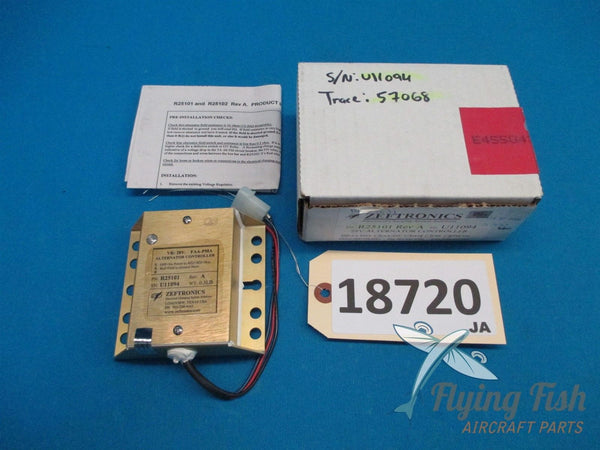 Zeftronics Alternator Controller P/N: R25101 28V New Old Stock (18720)