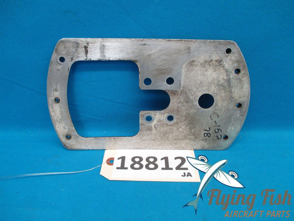 Cessna 152 Left Wheel Pant Fairing Mounting Plate Hardware PN 0441225-1 (18812)