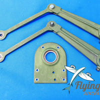 Cessna 401 Right Control Yoke Elevator Arms & Bearing Pad (19125)