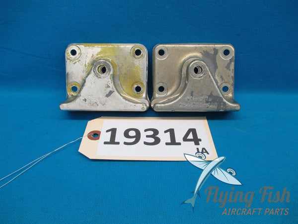 Cessna 401 Nose Gear Truss Drag Brace Retainer Pair 0842105-1 0842105-2 (19314)