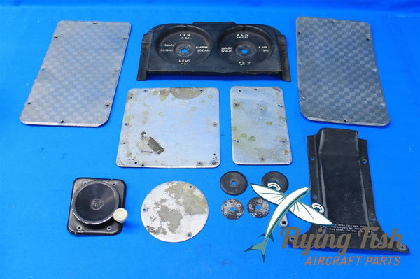Cessna 310D Aircraft Interior Panel Cover Plates Fuel Tank Selector (19297)
