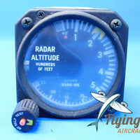 Bonzer Inc AI-76 Radar Altimeter Indicator Mark 10 1966 Cessna 401 (19117)