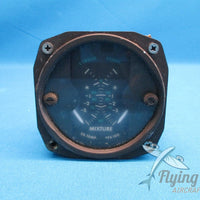 Alcor Dual EGT Mixture Control Indicator M-1631 889-010 Beechcraft Baron (18318)