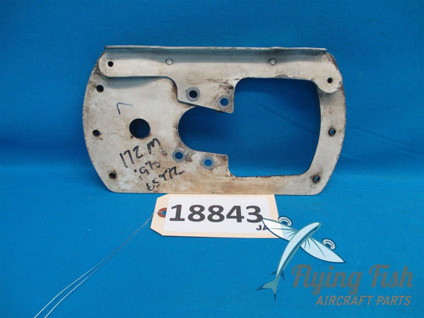 Cessna 172 Left Wheel Pant Fairing Mounting Plate Bracket 0541220-1 (18843)