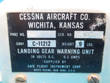 Cessna 401 Landing Gear Warning Unit Safe Flight C-11212 C11212 (18897)