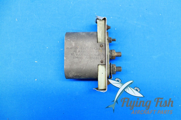 Burton Aircraft External Power Receptacle P/N AN2552-3A (18456)