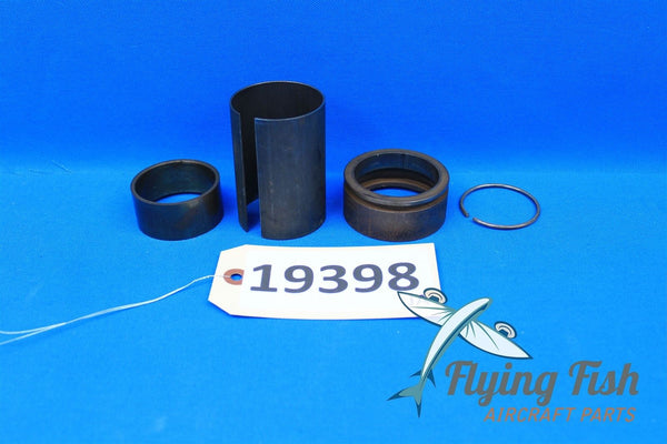 Cessna 401 Nose Gear Spacer, Bearing, Support Pack Ring, & Lock Ring (19398)