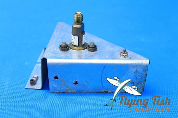 Cessna Aircraft Oxygen Bottle Recharge Valve Assembly P/N C166008-0101 (19123)
