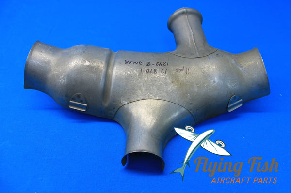 Radial Engine Stainless Steel Exhaust Shroud Assy P/N 12-870-1 NEW (19985)