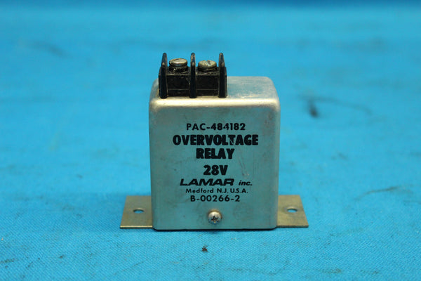 Piper Lamar Inc. Over Voltage Relay P/N: B-00266-2 (26174)