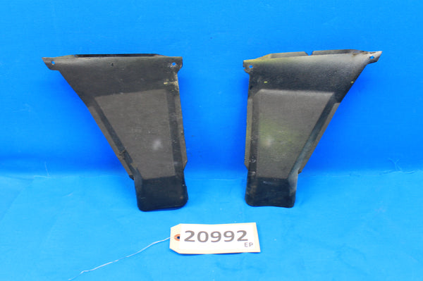 Cessna 172RG Left & Right Cabin Heat Outlets P/N: 2413049-1, 2413049-2 (20992)
