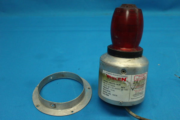 Whelen Engineering Strobe Light Beacon HRCFA-14/28 P/N: 01-0770029 (26166)
