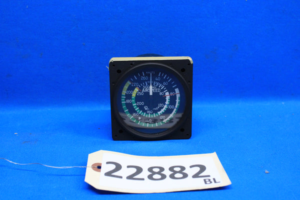 BeechCraft Air Speed Gauge P/N: 102-380002-39 (22882)