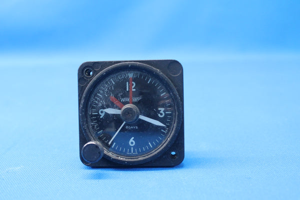 Piper PA-31-350 Navajo Mechanical 8 Days Clock P/N: 0311-1 (26392)